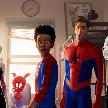 """""""Bonjour, c'est ici pour la réunion de Spider-Man $1"""""""