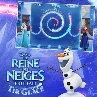 Anna et Elsa soufflent le show et le froid
