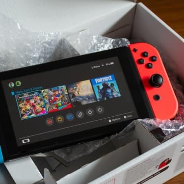 La Smitch, fausse Nintendo Switch commercialisée pendant les fêtes de Noël.