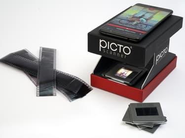 Idée cadeau de Noël : un scanner de diapositives pour smartphones