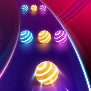 Vibrez sur Dancing Road : Color Ball Run !, disponible sur SFR Jeux illimité