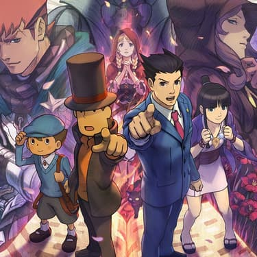 Professeur Layton Versus Ace Attorney, le crossover entre les deux licences de visual novel sur Nintendo 3DS.