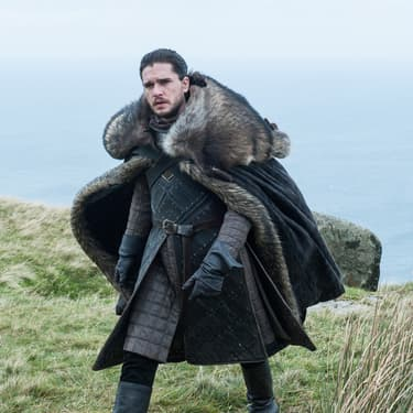 Jon Snow, incarné par Kit Harington dans Game of Thrones.
