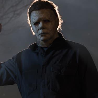 Le terrible psychopathe Mike Myers dans le film Halloween.