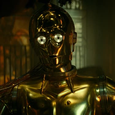 L'emblématique C-3PO, incarné par Anthony Daniels, dans Star Wars : L'Ascension de Skywalker.