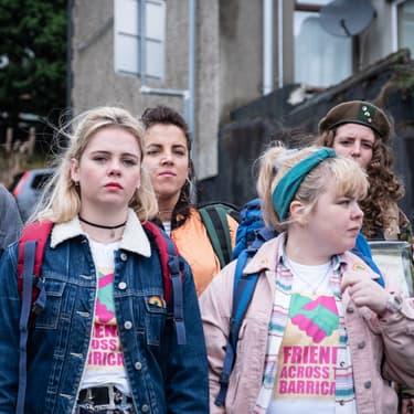 L'hilarante série nord-irlandaise Derry Girls, sur Netflix.