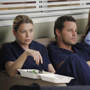 """Ellen Pompeo, Justin Chambers et Sarah Drew dans la saison 9 de """"Grey's Anatomy""""."""