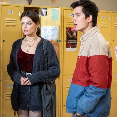 Aimee, Maeve et Otis dans la saison 2 de Sex Education sur Netflix.