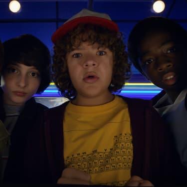 Mike, Justin, Lucas et Will, les héros de la série Netflix Stranger Things.