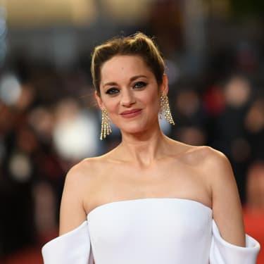 Marion Cotilllard, sur le tapis rouge du Festival de Cannes en mai 2018.