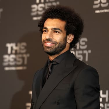 Mohamed Salah lors de la cérémonie FIFA The Best, le 24 septembre 2018 à Londres.