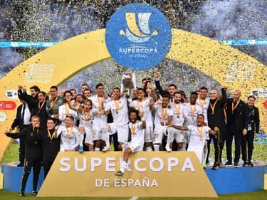 Combien a rapporté la Supercoupe d'Espagne au Real Madrid ?