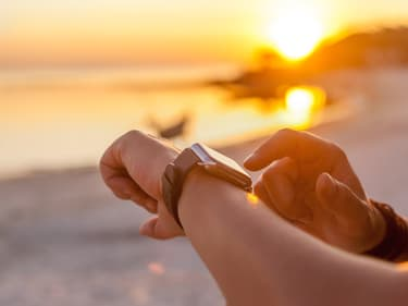Wear OS indique désormais l'indice UV sur montre connectée