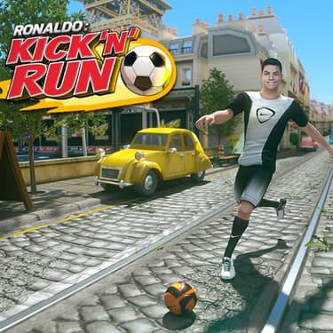 Ronaldo : Kick'n'Run, joue-la comme CR7 sur mobile