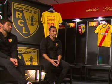 Le Vestiaire spécial RC Lens pour le retour de l'émission sur RMC Sport