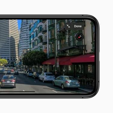 La mise à jour iOS 13 pour iPhone permettra notamment un visionnage interactif d'une ville grâce à Look Around.