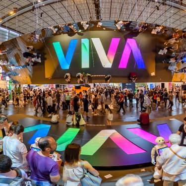 Le salon Viva Technology 2019, au Parc des Expositions Porte de Versailles, où de nombreuses start-up du monde entier viennent présenter leurs innovations.