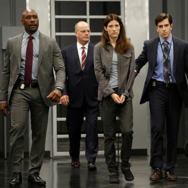 Will Keaton (joué par Morris Chestnut, à gauche) et Erica Sheperd (incarnée par  Jennifer Carpenter, à droite) vont connaître de nombreux retournements de situation dans The Enemy Within...
