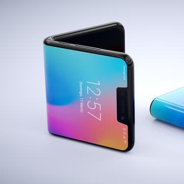 Une idée du design potentiel du Samsung Galaxy Fold 2. Photo non-contractuelle.