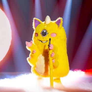 Le Monstre, mystérieux candidat de Mask Singer sur TF1.